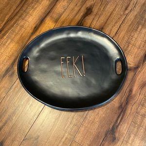 Rae dunn Eek! Large serving platter